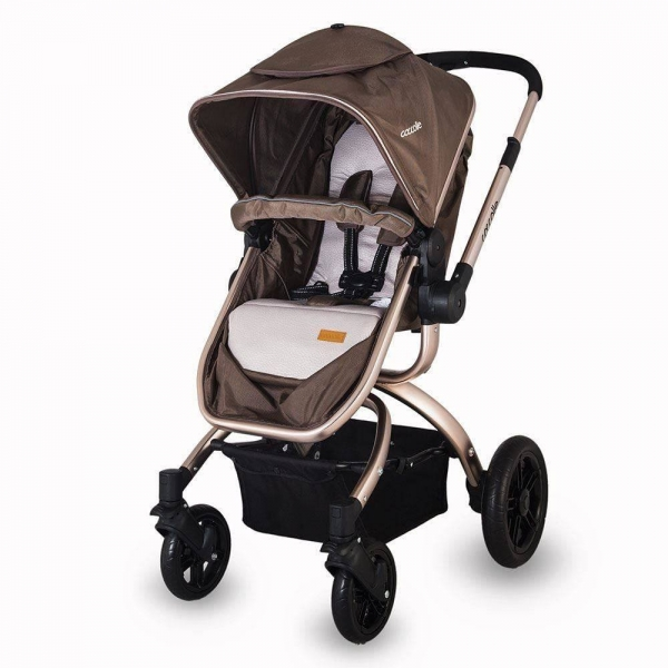 Carucior transformabil 3 in 1 COCCOLLE Oro 3