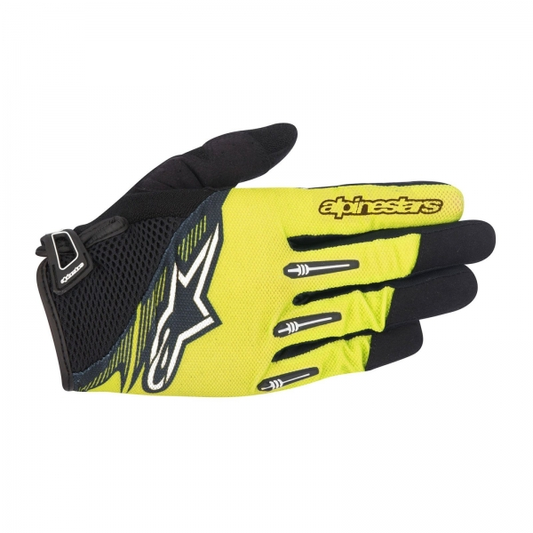 Manusi Alpinestars Flow Glove acid yellow black L 0