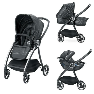 Carucior modular gb Maris 3 in 1 Lux Black0