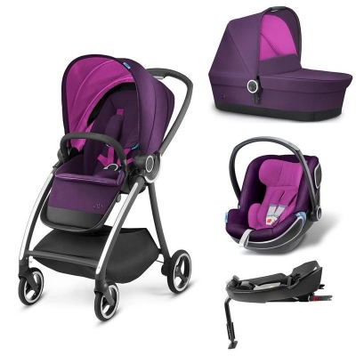 Carucior modular gb Maris 4 in 1 Posh Pink0