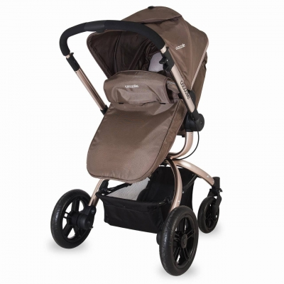 Carucior transformabil 3 in 1 COCCOLLE Oro4