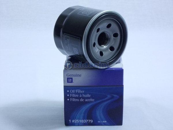 Filtru ulei     0.8/ 1.0 SOHC  1.2 SOHC model mic - producator DAEWHA cod 96565412