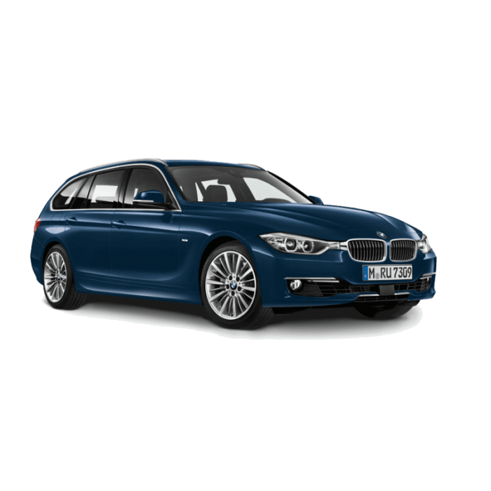 Macheta BMW Seria 3 Touring Imperial Blue 1:43 0