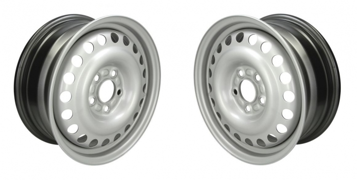 Set 2 Jante otel Ford Transit Connect 2003-2014 6Jx15''H2, 5x108x63.3, ET 52.5 0