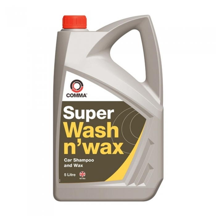 Sampon auto COMMA SUPER WASH N WAX 5L 0