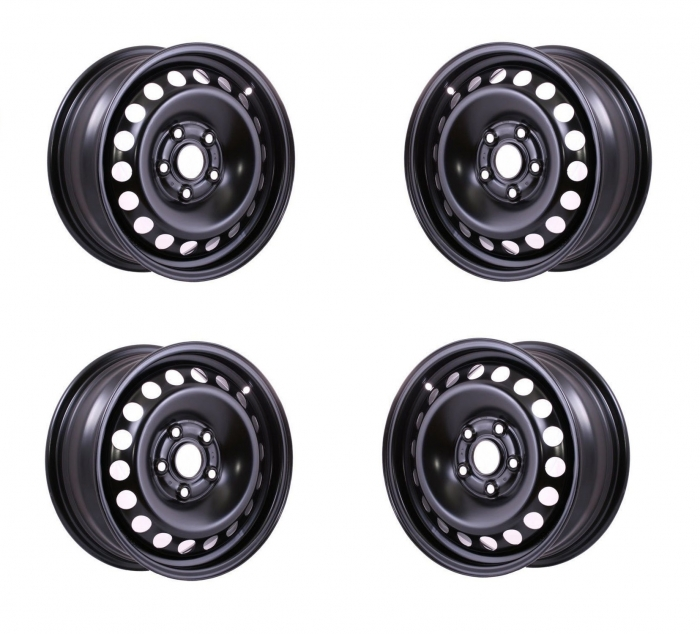 "Set 4 Jante otel Ford Tourneo Connect dupa 2014 6.5Jx16""H2, 5x108x63,3 ET50 0"