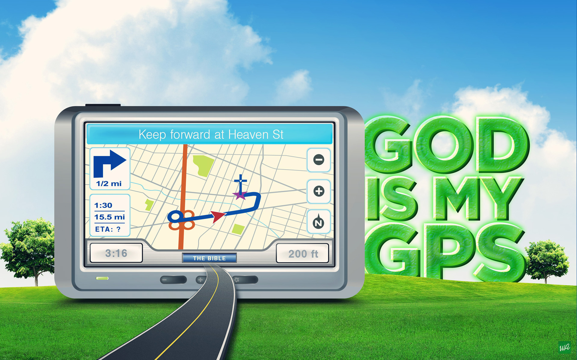GOD IS MY GPS