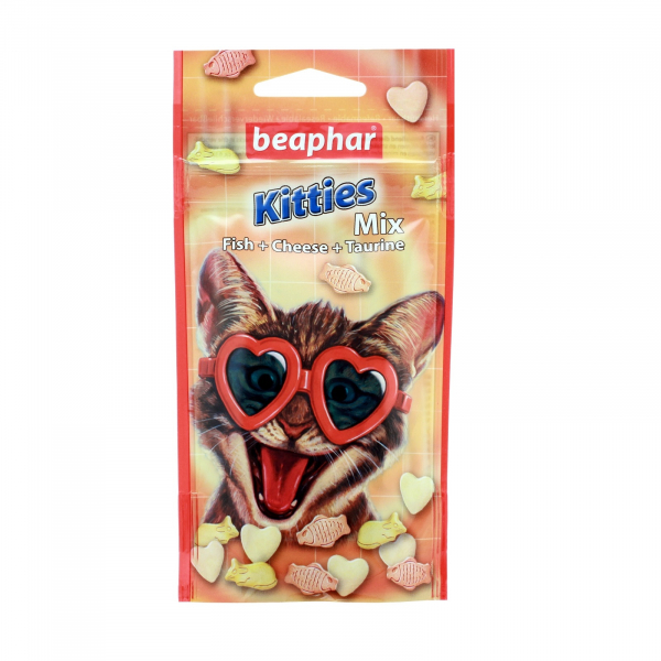 BEAPHAR RECOMPENSE PISICA KITTIES MIX 32,5 G 0