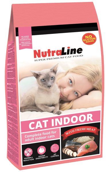 NUTRALINE CAT INDOOR 10 KG