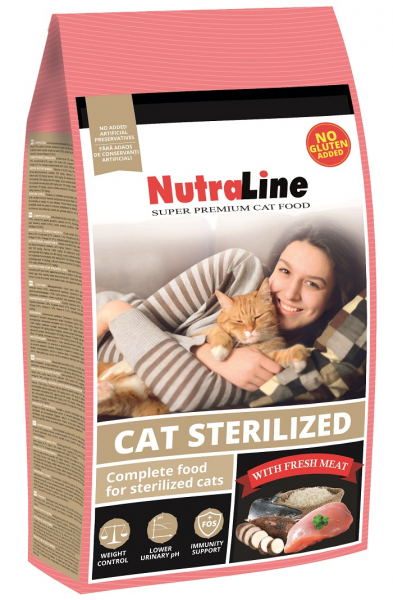 NUTRALINE CAT STERILIZED 1.5 KG 0