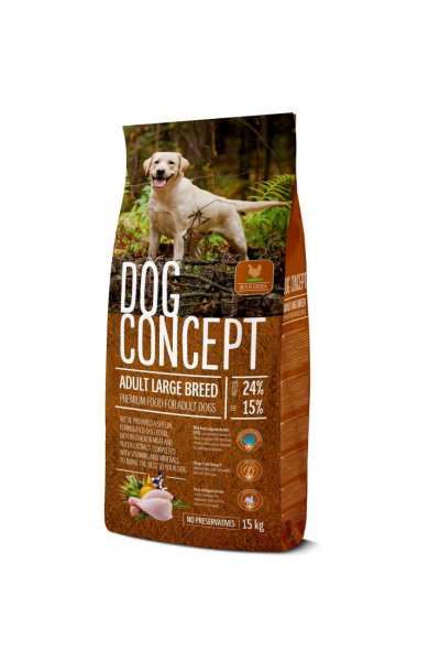 DOG CONCEPT ADULT LARGE BREED 15 KG 0