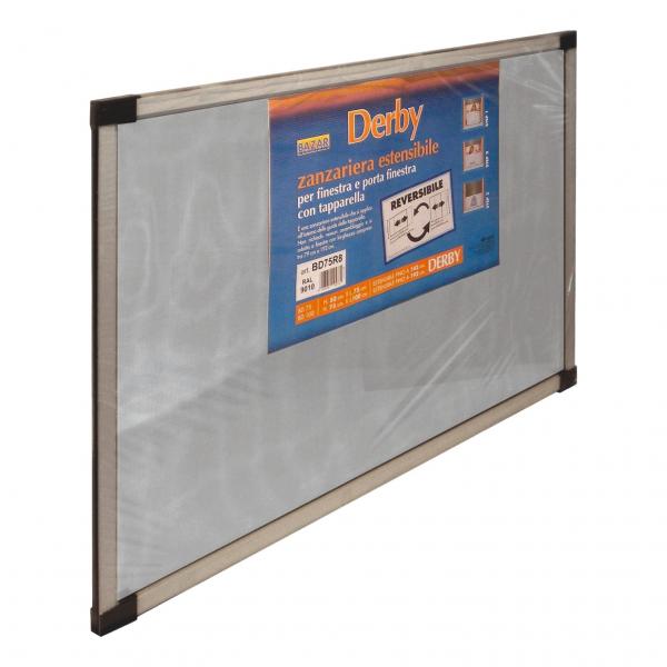 DERBY plasă de țânțari extensibilă pentru rulouri ușa/fereastră [0]