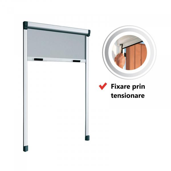 KIT plasă de țânțari tip rulou verticală pentru ușă BAZAR 0