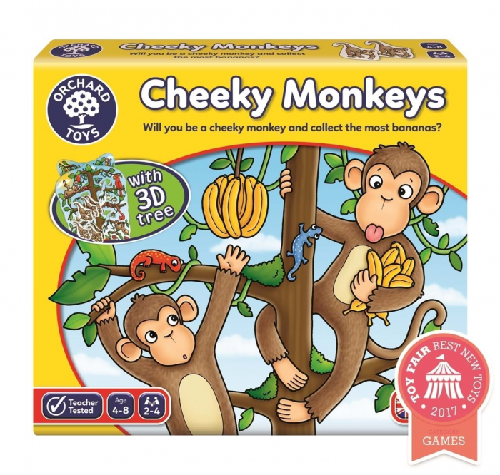 Cheeky Monkeys joc de societate 0
