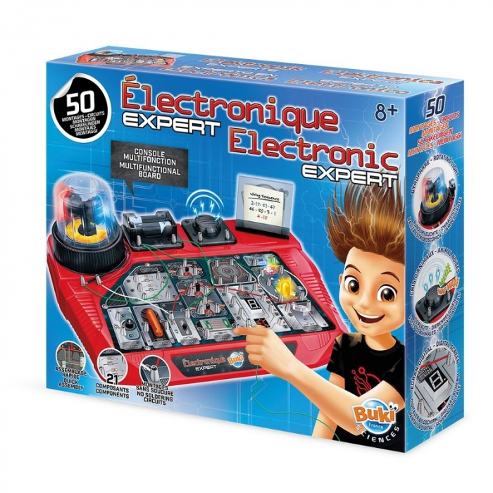Expert in electronica Kit circuite electrice 0