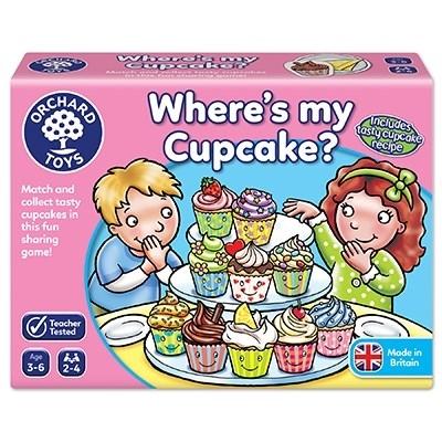 Joc educativ in limba engleza Briosa WHERE'S MY CUPCAKE? 0