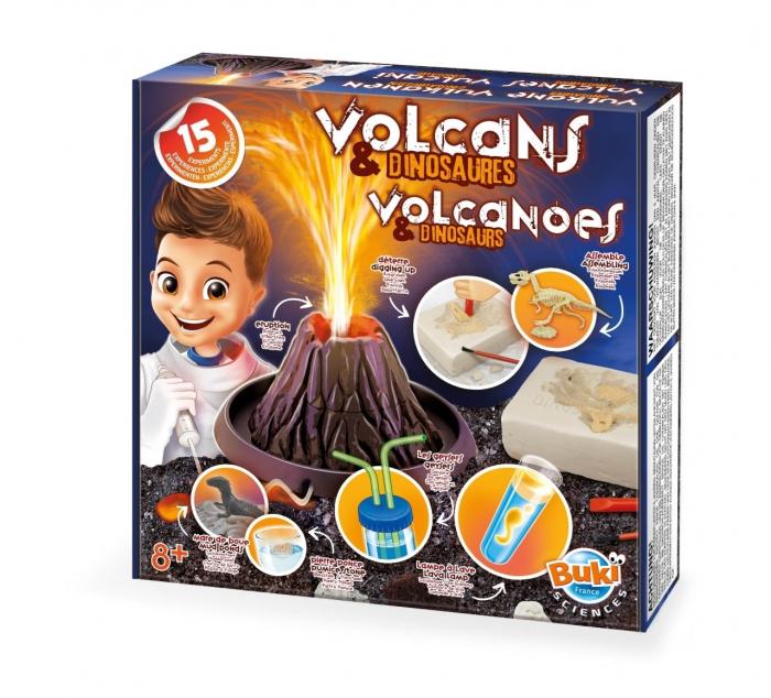 Vulcani si dinozauri 15 experimente 0