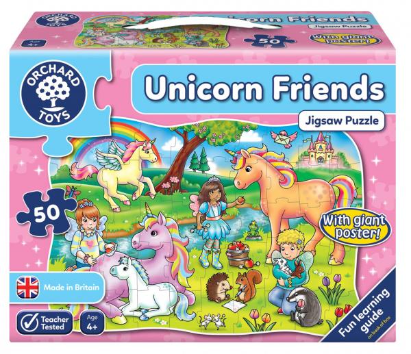 Puzzle Prietenii Unicornului UNICORN FRIENDS [0]
