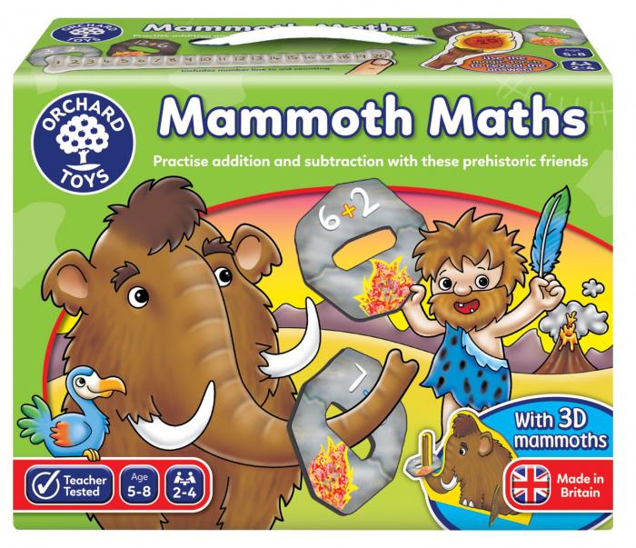Joc educativ Matematica Mamutilor MAMMOTH MATH [0]