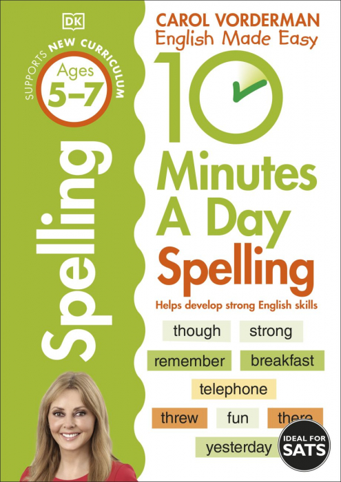 10 Minutes A Day Spelling Ages 5-7 Key Stage 1 [0]