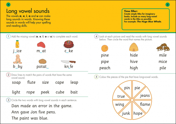 10 Minutes a Day Spelling Fun Ages 5-7 Key Stage 1 [1]