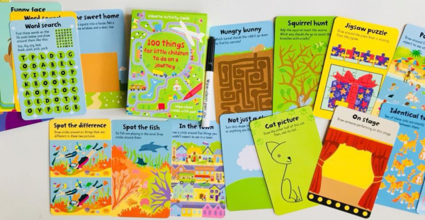 100 Things for little children to do on a journey 2