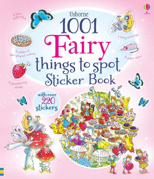 1001 fairy things to spot sticker book 0