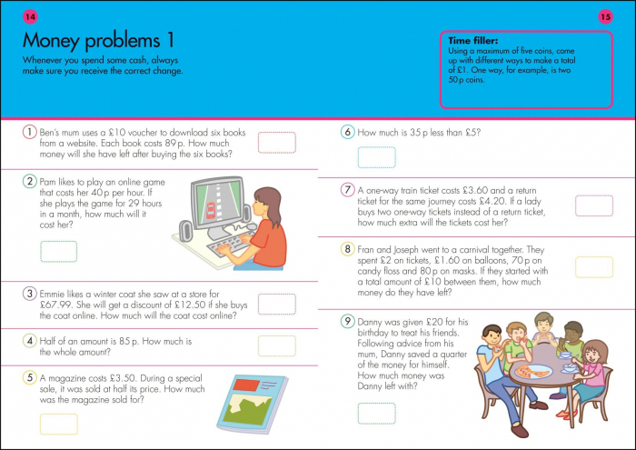 10 Minutes a Day Problem Solving Ages 7-9 Key Stage 2 1