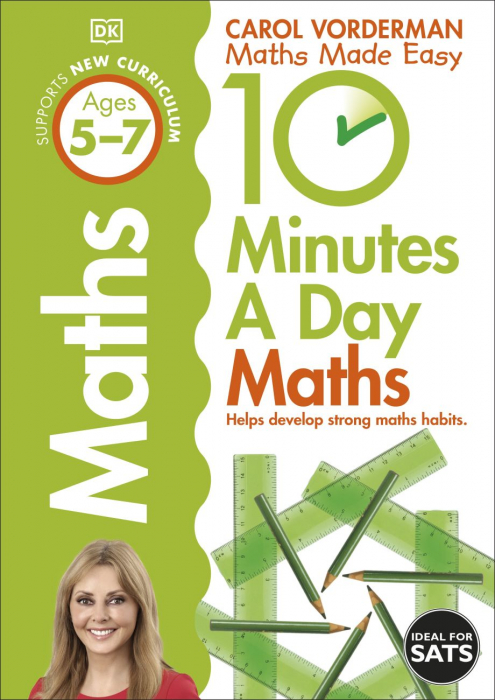10 Minutes a Day Maths Ages 5-7 Key Stage 1 0