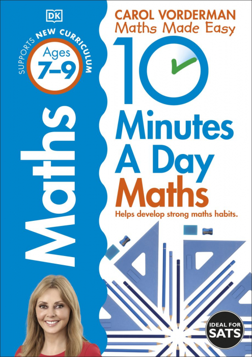 10 Minutes a Day Maths Ages 7-9 Key Stage 2 0