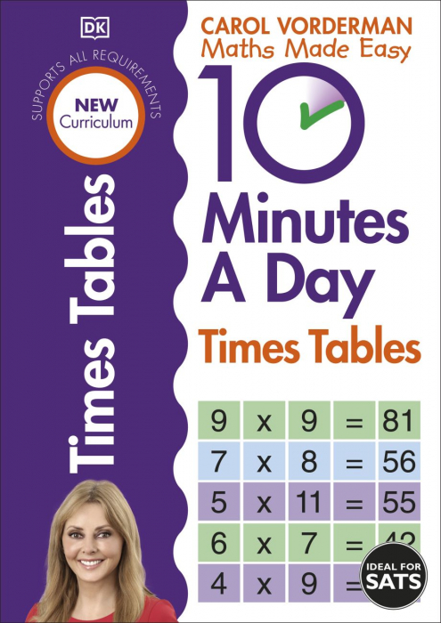 10 Minutes A Day Times Tables inmultiri 0