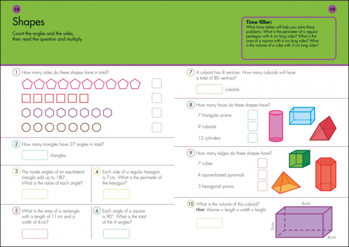 10 Minutes A Day Times Tables inmultiri 1