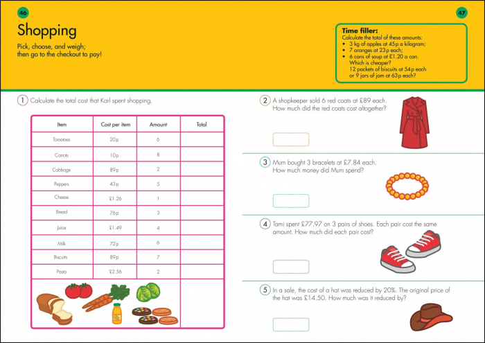 10 Minutes A Day Times Tables inmultiri 3