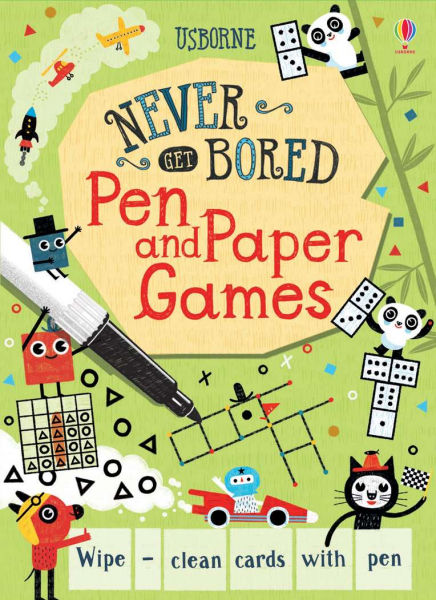 Pen and paper games wipe clean 0
