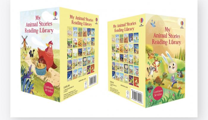 My animal stories Reading Library set 30 carti povesti [1]