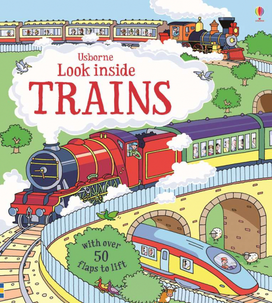Look inside trains 0