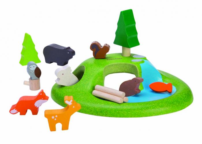 Set de joaca Animalele pădurii 0