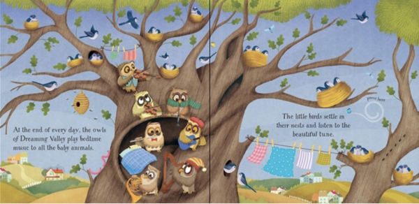 Baby's bedtime music book 1