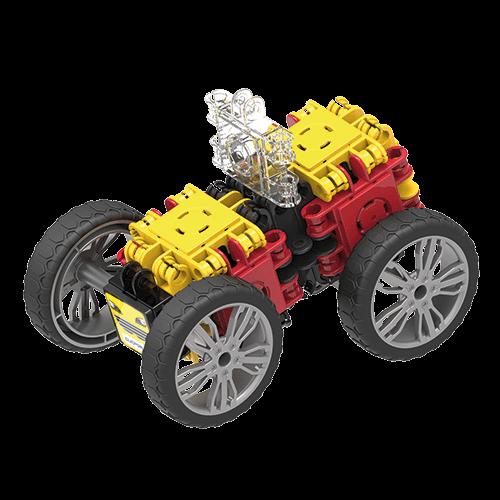 Set de construit Clicformers- Masini de viteza, set 34 piese 3