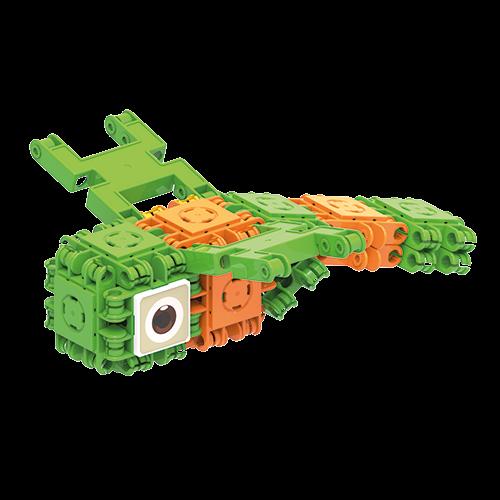 Set de construit Clicformers- Insecte, 30 piese 2