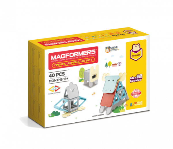Magformers Animale 40 piese 0