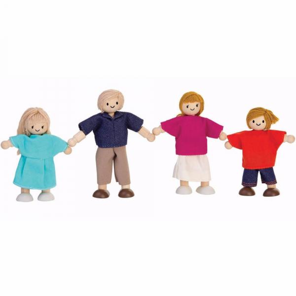 Familie europeana 4 păpuși [0]