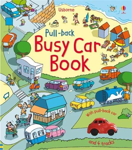 Pull-back Busy Car Book 0