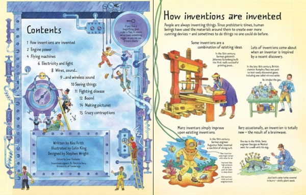 See inside Inventions 1