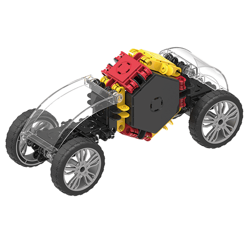 Set de construit Clicformers- Masini de viteza, set 34 piese 2