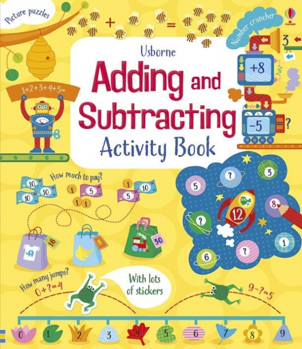 Adding and substracting activity book 0