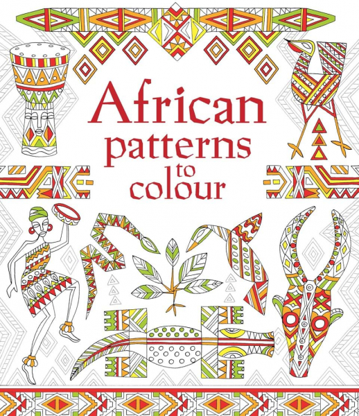African Patterns to colour 0