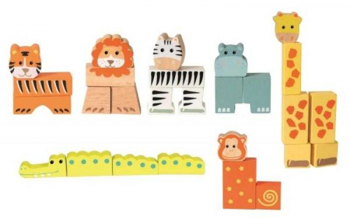 Animale din cuburi 27 piese [0]