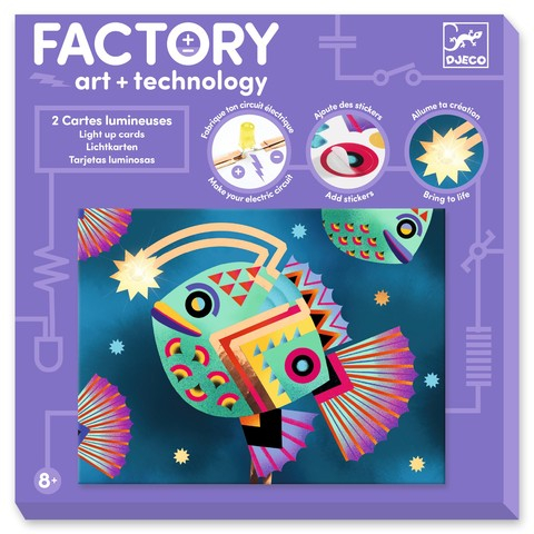 Atelier Arta, Stiinta si Tehnologie Djeco, Abisal [1]