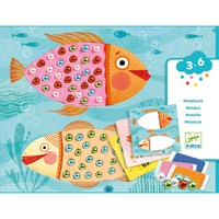 Atelier creativ Djeco, Mozaic cu plastilina si margele [0]